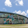 Soccer stadium in Montevideo Uruguay