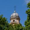 Church dome Metropolitan Cathedral Montevideo, Uruguay