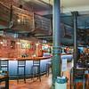Inside La Corte Restaurant in the Old City Montevideo, Uruguay
