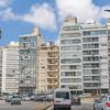 View along the beach promenade Montevideo, Uruguay