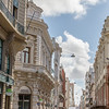 Architecture of historic Old Town, Montevideo, Uruguay