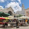 Historic port market, Mercado Del Puerto, Port of Montevideo, Uruguay