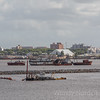 Port of Montevideo -abandonded ships
