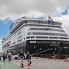 Holland America Zaandam in Montevideo port