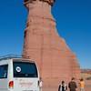 Taking the mini tour bus is mandatory...