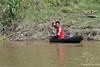 Man in canoe on Amazon