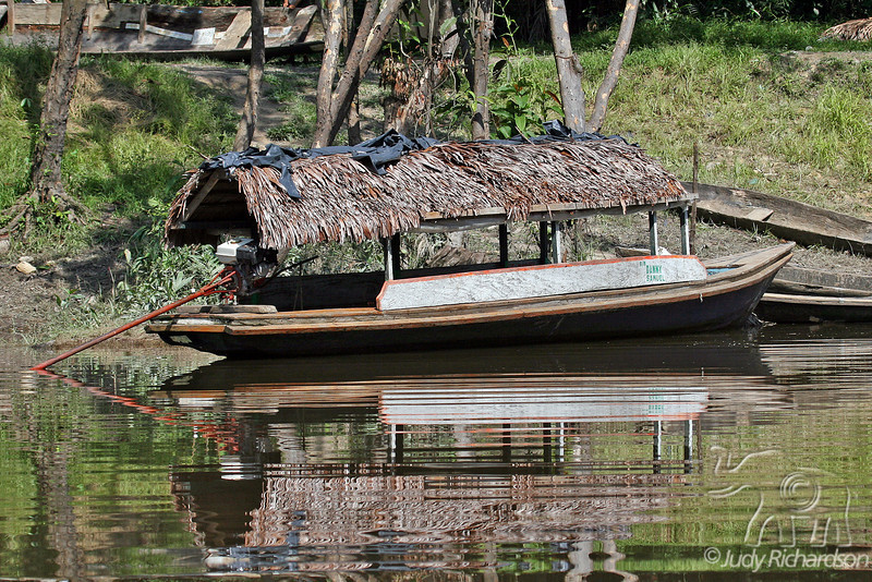 Covered Boat