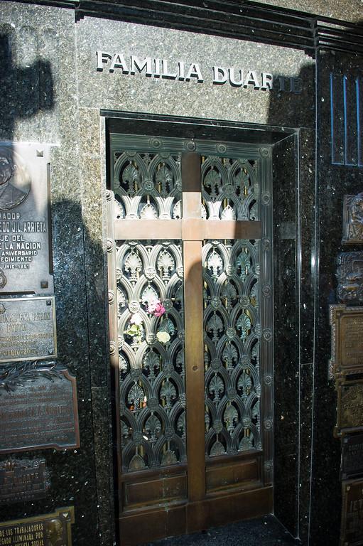 Eva Peron Mauselouim Recoleta Cemetery - Buenos Aires