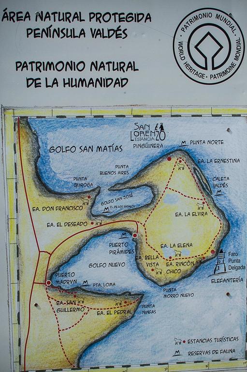 Punta Delgada Lightouse - Peninsula Valdes, Argentina