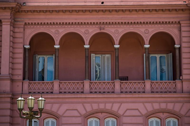 Evita Window - Casa Rosada - Buenos Aires