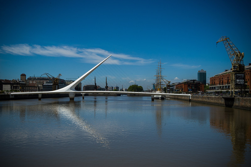 Puente de Calatrava - Puerto Madero - Buenos Aires