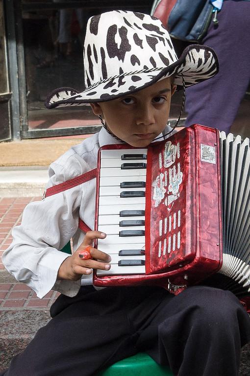 Young Music Man - San Telmo Area, Buenos Aires
