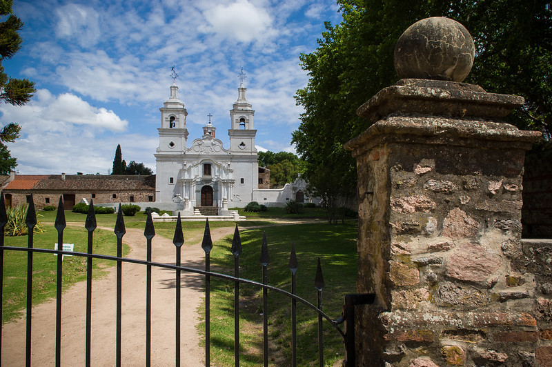 Mission Front Gate Santa Catalina circa 1622 - Near Cordoba, Argentina