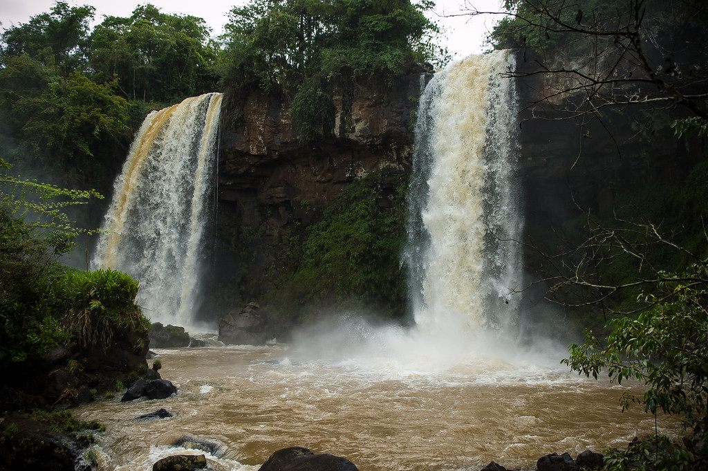 Twin Falls - Iguazu Falls, Argentina