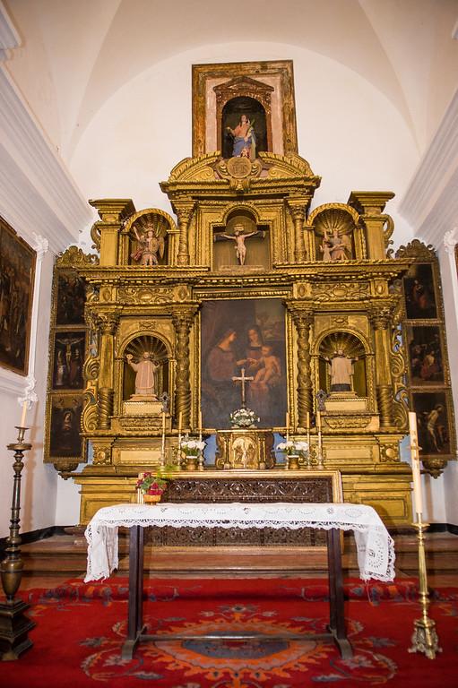 Alter - Mission Santa Catalina circa 1622 - Near Cordoba, Argentina