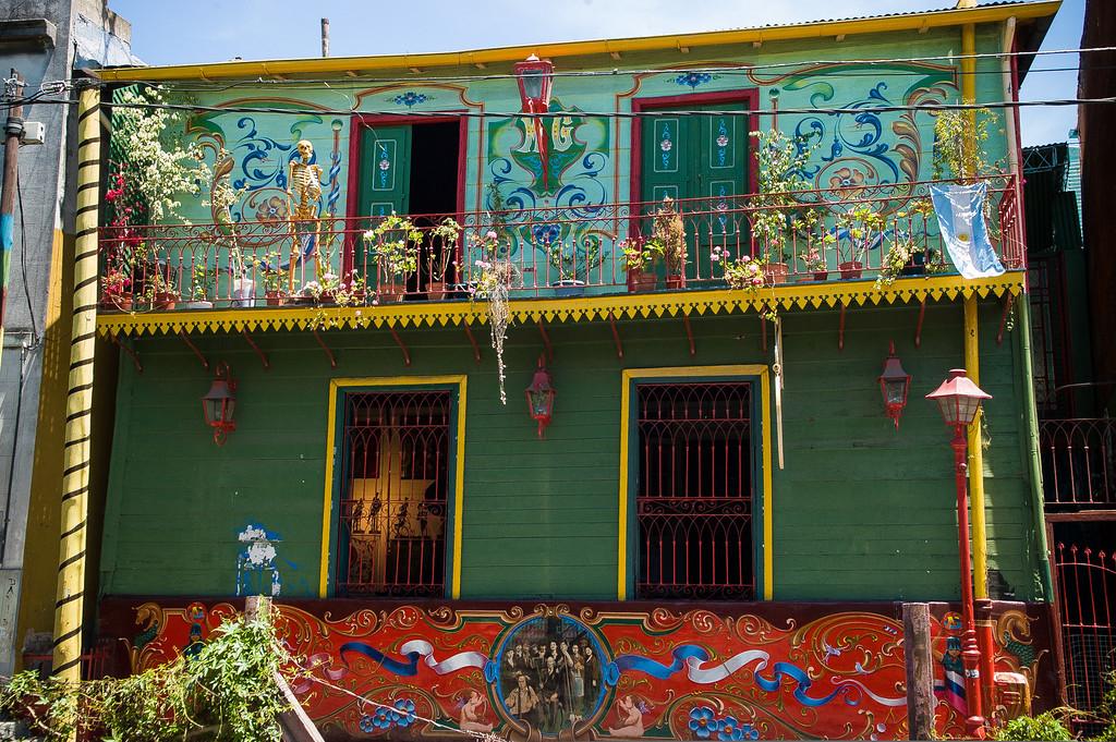 La Boca Neighborhood - Buenos Aires