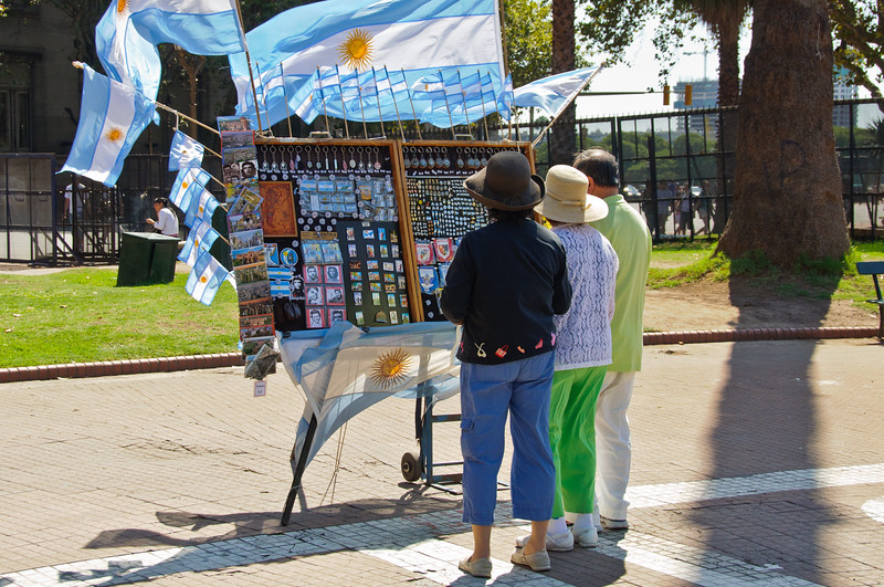 Independence Plaza, Buenos Aires, Argentina