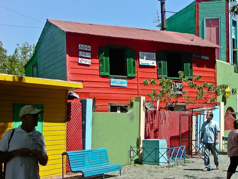 La Boca District, birth of Tango, Buenos Aires, Argentina