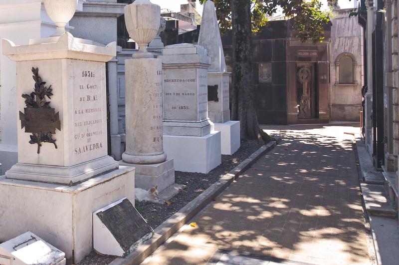 Cementario de la Recoleta, Buenos Aires, Argentina