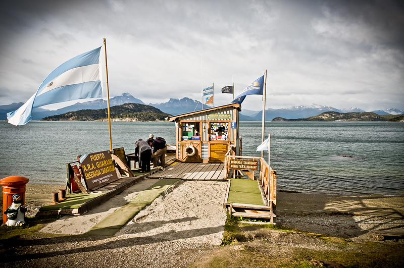 Post Office at the end of the World. Tierra del Fuego, Argentina