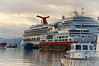 Carnival Splendor in Ushuaia Harbor