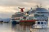 Carnival Splendor in Ushuaia Harbor