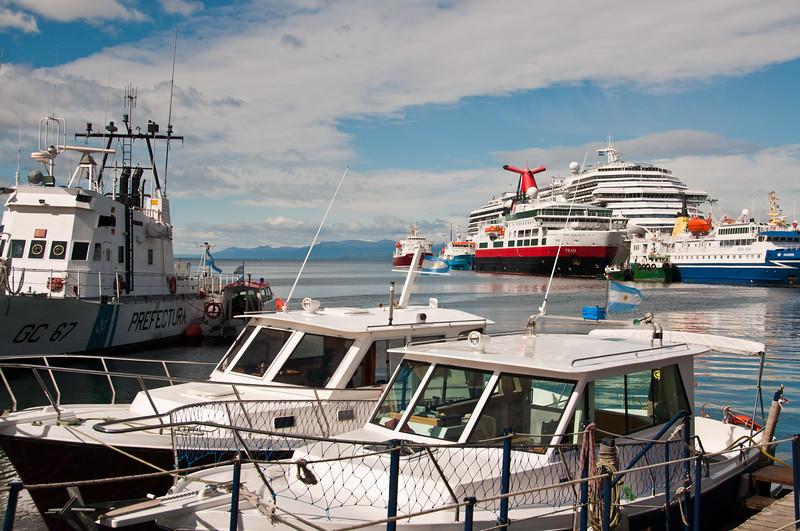 Harbor, Ushuaia, Argentina