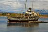 Derelict Ship Ushuaia Harbor