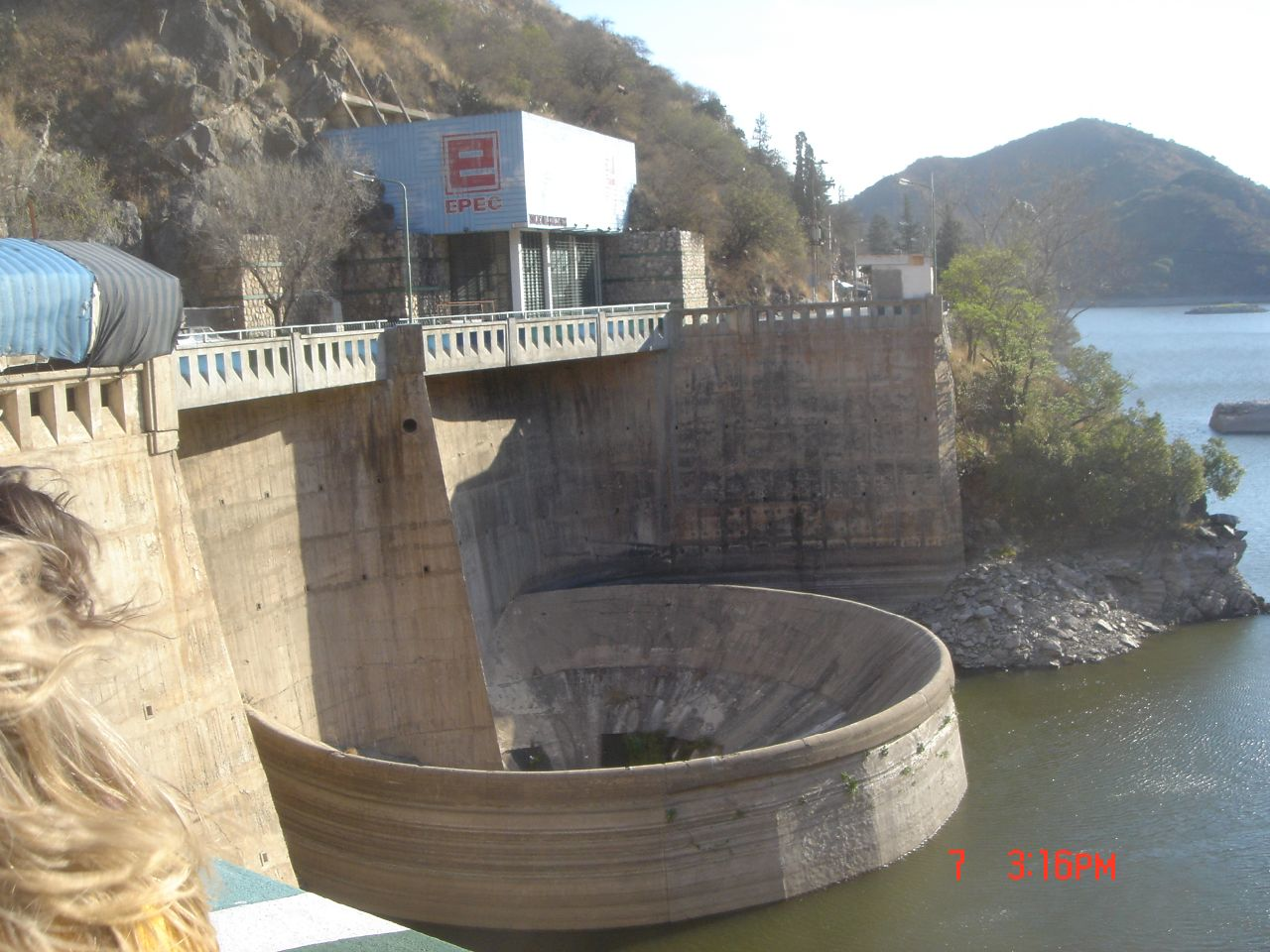 Dam near Carlos Paz, Argentina