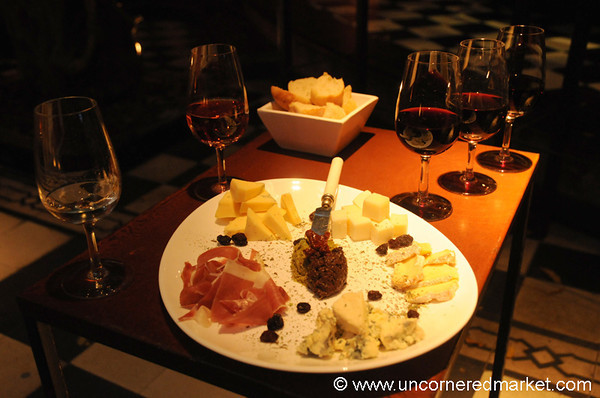 Tasting Wines at Vines of Mendoza - Argentina