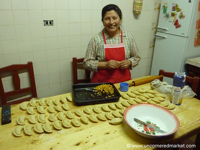 Homemade Empanadas in Cachi, Argentina