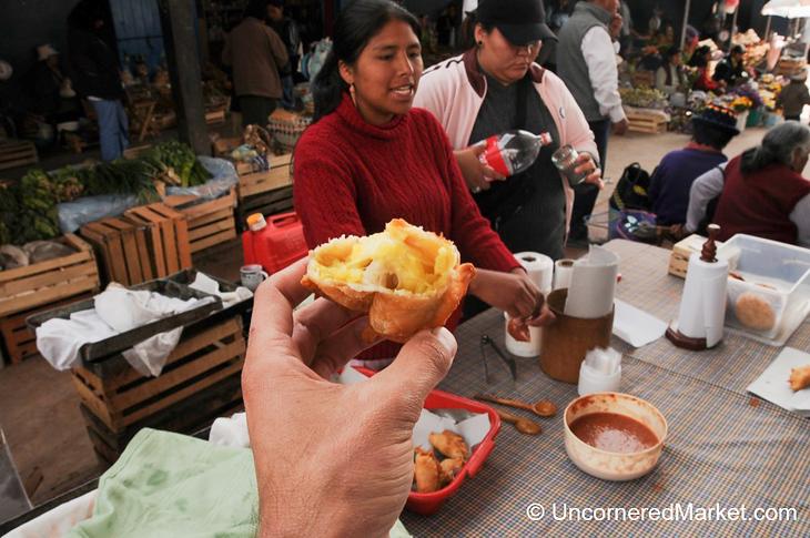 Market Empanadas in Tilcara, Argentina