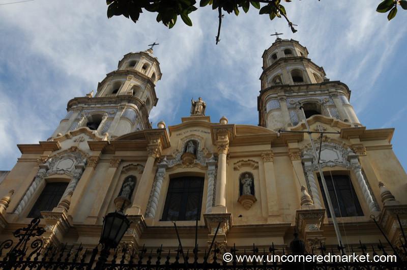 Church in San Telmo, Buenos Aires