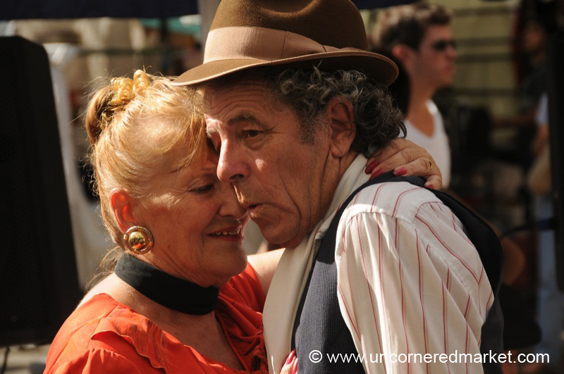 Tango on the Streets of San Telmo - Buenos Aires, Argentina