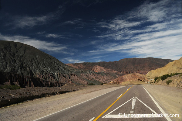 Is the Road Trying to Tell You Something? Northwestern Argentina
