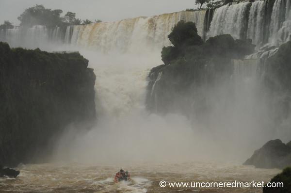 Into the Crush - Iguazu Falls, Argentina
