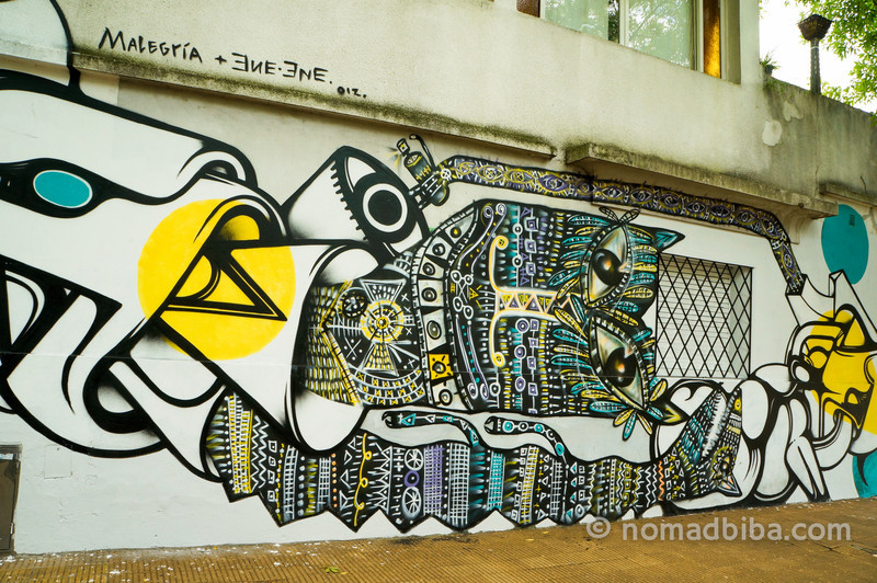 Malegria & ENE ENE mural