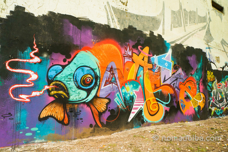Nase mural