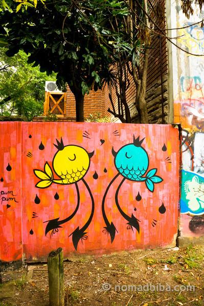 Pum Pum mural
