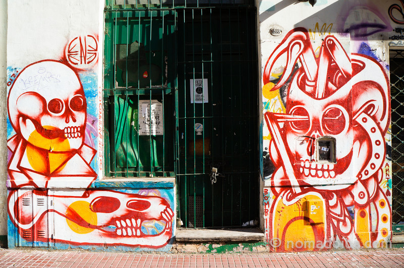 Ene Ene mural in San Telmo