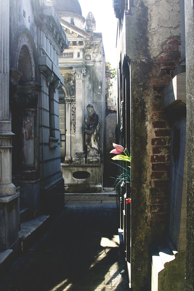 La Recoleta Cemetery. January 2017