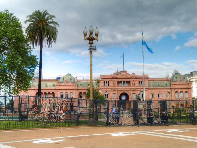 buenos aires casa rosada presidential palace