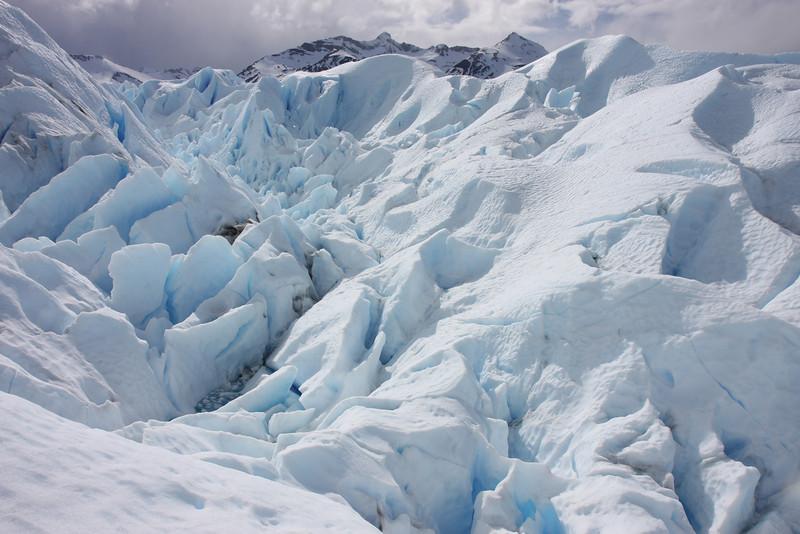Walking on Perito Moreno (North Side)