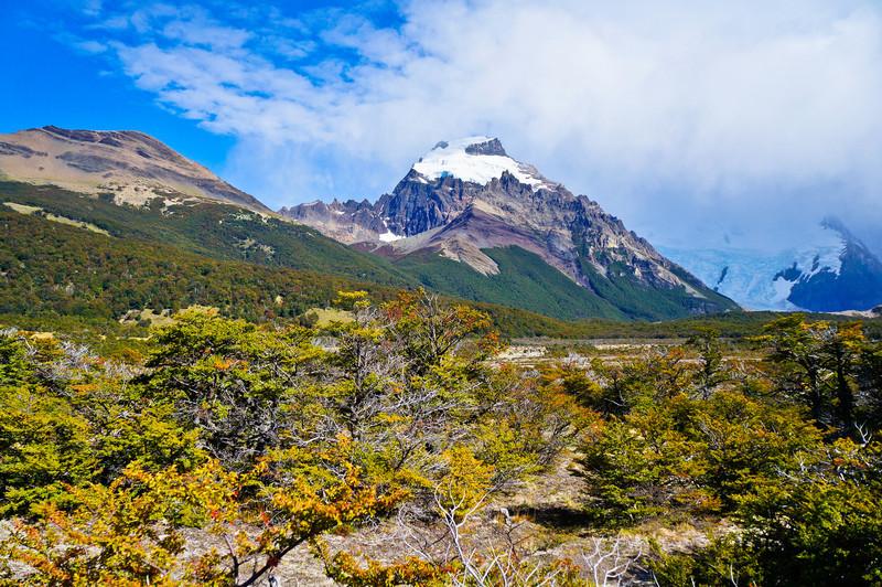 View of Cerro Solo in El Chaltén, Argentina