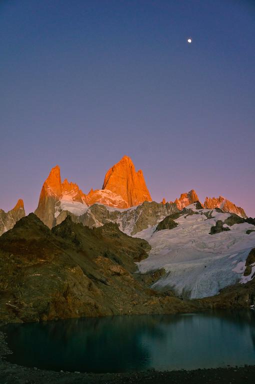 Fitz Roy at Sunrise in Argentina