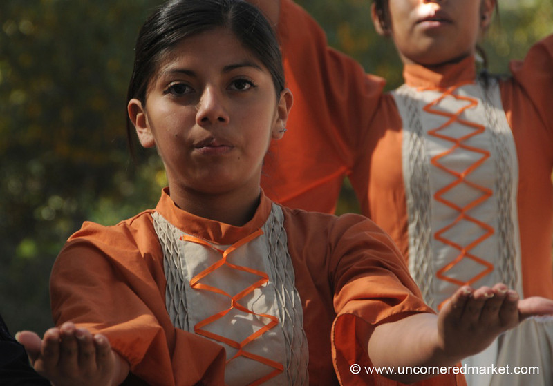 Dancers Strike a Pose - Northern Argentina