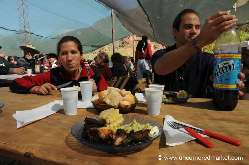 Digging In - Gaucho Festival in El Sunchal, Argentina
