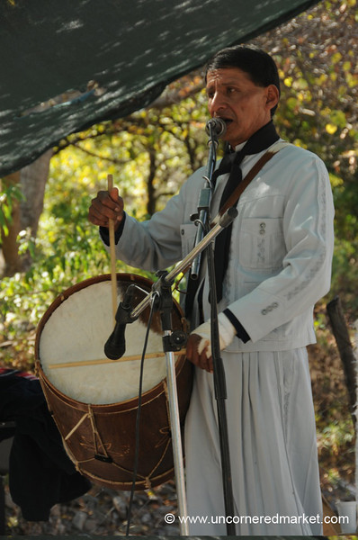 Gaucho Style Music at Village Festival - Northern Argentina