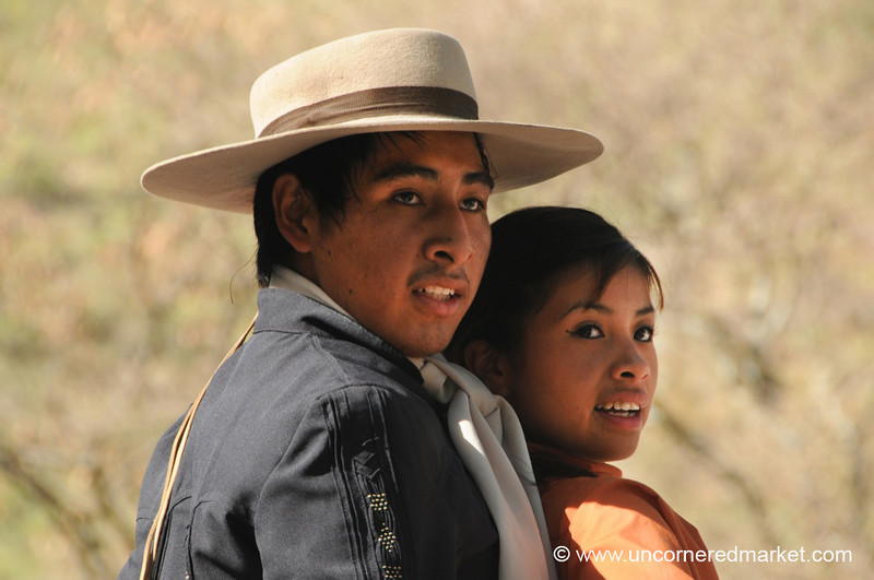 Gaucho Dancing Couple - Northern Argentina