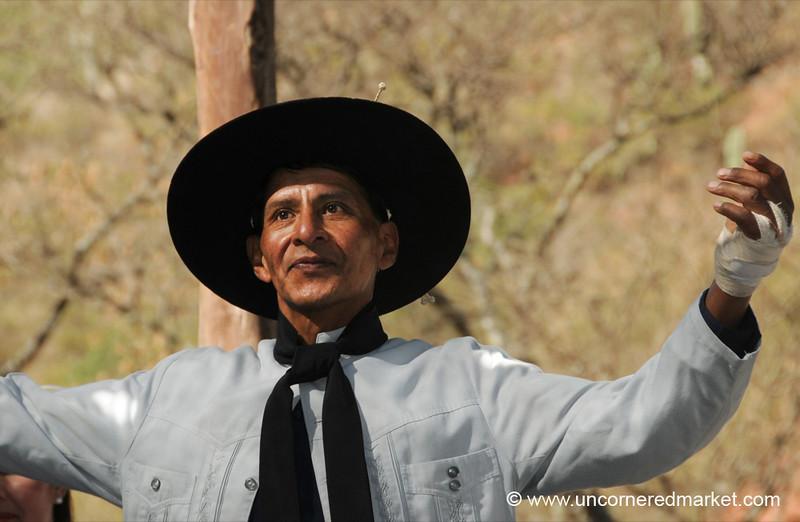 Proud Gaucho Dancer - Northern Argentina